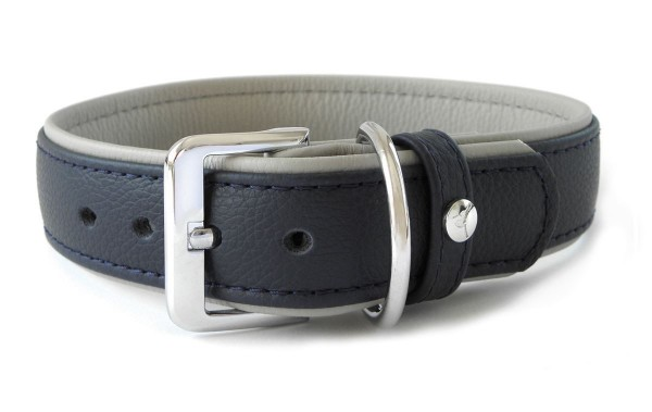 Halsband Navy-Grey